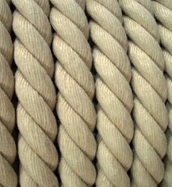 3 Strand Hempex Synthetic Hemp Rope 100M reel
